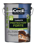 Lasure bois eco construction protection forte
